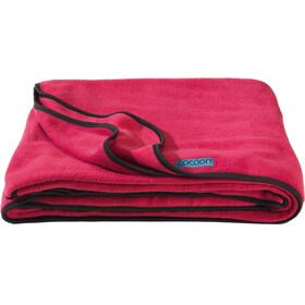 Cocoon Fleece Blanket, raspberry